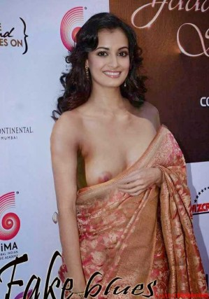 Fake Images of Dia Mirza Nude-1