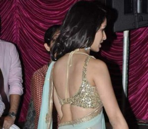 sonama kapoor backless bra