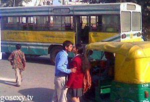 school girl indian kissing sex in bus