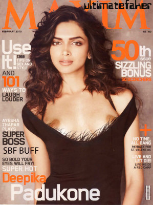 Padukone has gone nude in her sexiest shoot yet