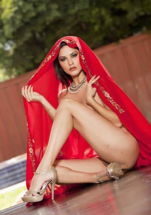 Leone red dress sunny