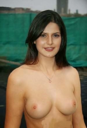 zarine khan boobs
