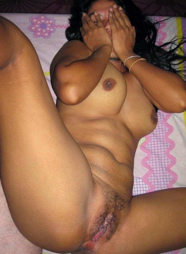 Nude half asian woman