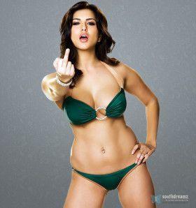 bikini model sunny crazy pic