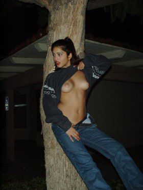 Indian Naked Girl Peeing Outdoors