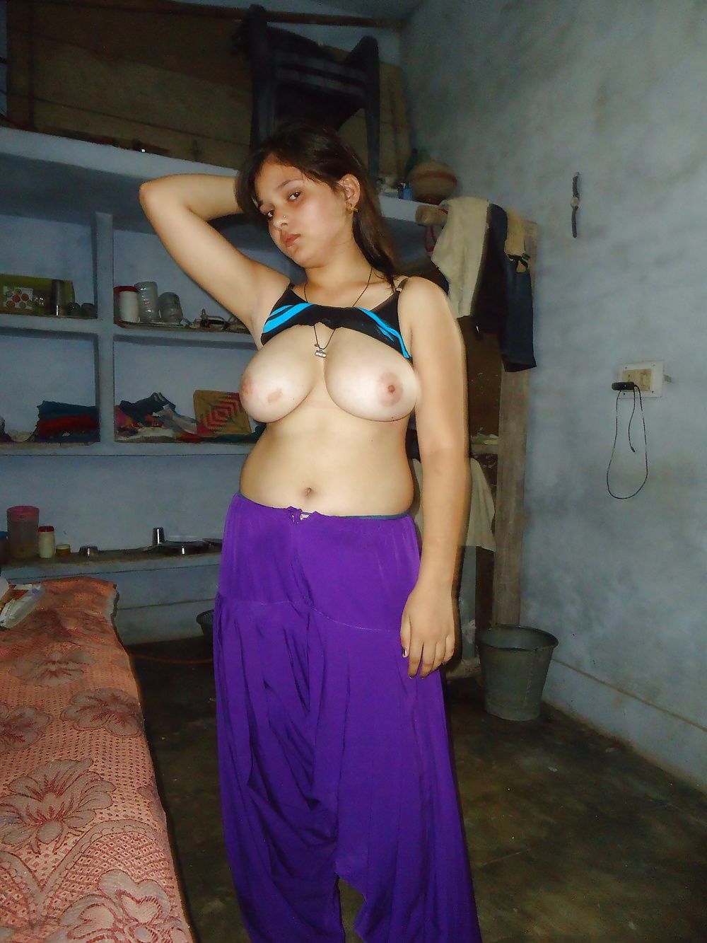 Skinny indian nude-1537