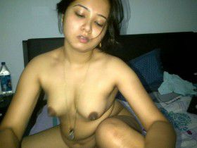 North East Indian Girl Showing Black Nipples