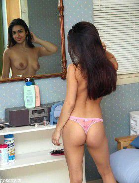 sexy arab indian girlfriend full naked bathroom