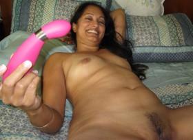 masturbating sexy girl small jugs bedroom dildo