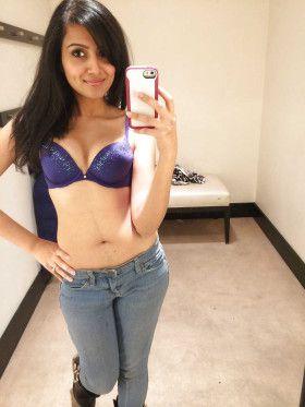stripping college desi teen selfie