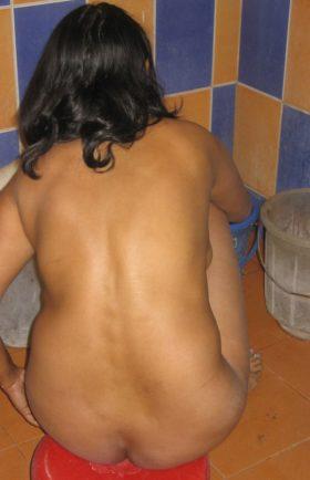 desi indian bathing naked